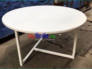 bàn sofa đơn giản nghệ thuật