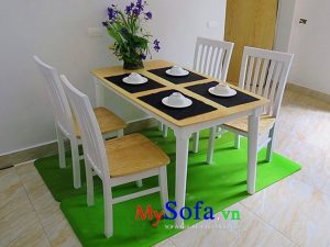 bàn ghế ăn 4 chỗ đẹp