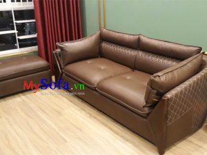 Ghế sofa văng da đẹp sang trọng