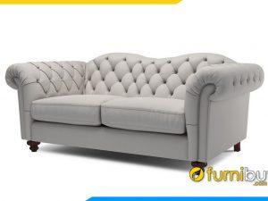 Ghế sofa nỉ phong cách Bắc Âu FB20007