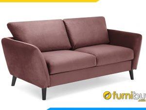 Ghế sofa văng nỉ 2 chỗ ngồi FBS-20190