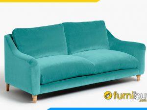 Sofa văng nỉ đẹp cho phòng khách FB20057