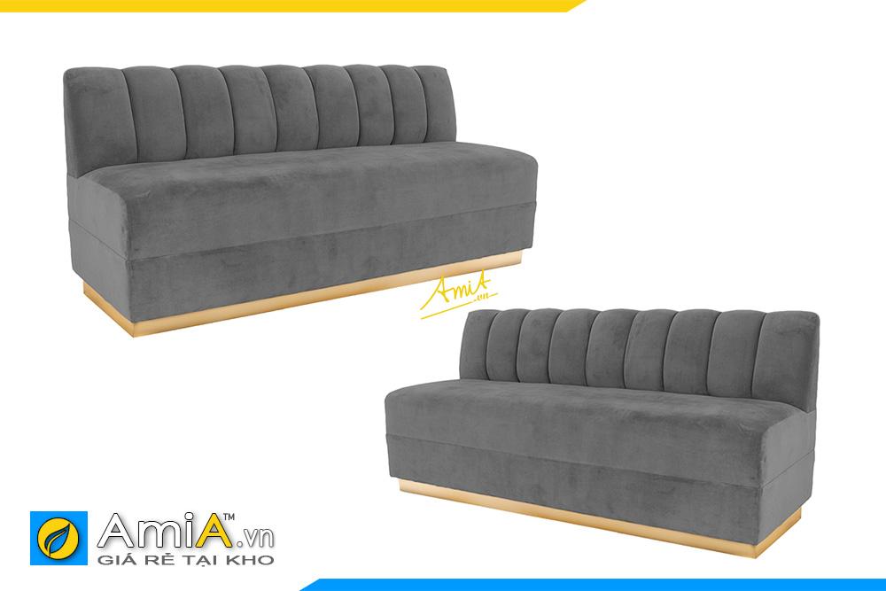 hình ảnh sofa văng chờ bọc vải nỉ đẹp