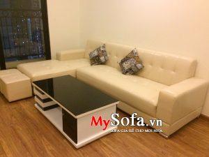 bán sofa góc chữ L đẹp tại bắc ninh